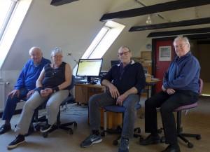 Deltagerne i projektet. - Foto Bjarne Larsen 2015
